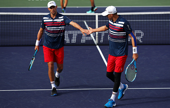 Bryan Brothers' Inspiring Kids Foundation Brings 400 Kids to Indian Wells