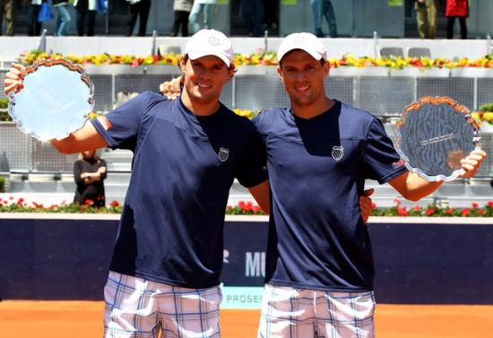 Bryan Brothers Win Madrid, Spain